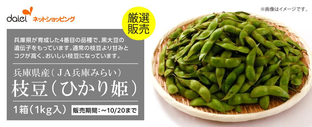 ダイエーネットショッピング 限定コレクション 枝豆