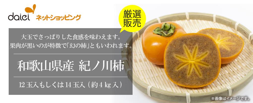 ダイエーネットショッピング 限定コレクション 紀ノ川柿