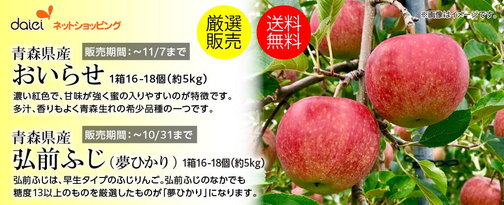 ダイエーネットショッピング 限定コレクション りんご