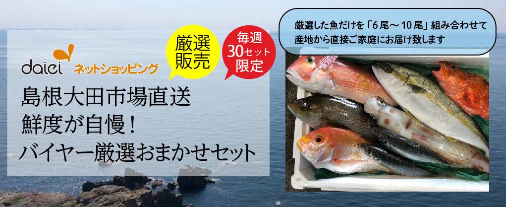 ダイエーネットショッピング 限定コレクション 島根大田市場