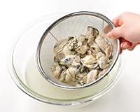 方 洗い 牡蠣 の