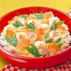 春の鯛ちらし寿司