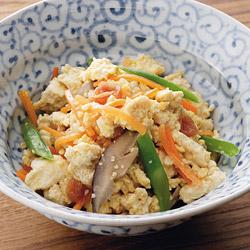 梅干し入り炒り豆腐