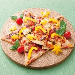 お星さまのピザ