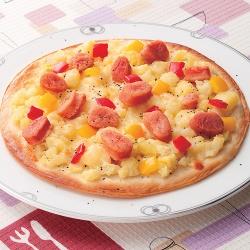 明太じゃがピザ
