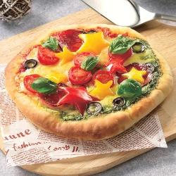 クリスマス手作りピザ