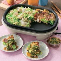 ザクザク野菜のお好み焼き