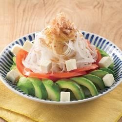 新玉ねぎの和風サラダ