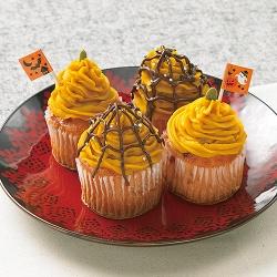 かぼちゃクリームマフィン