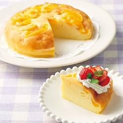 黄桃の炊飯器ケーキ