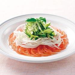 イタリアンカラーのサラダ