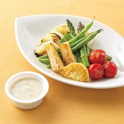 焼き野菜&ディップソース