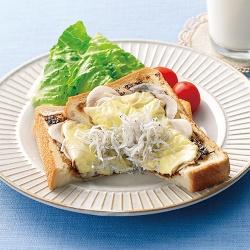 のりしらすチーズパン