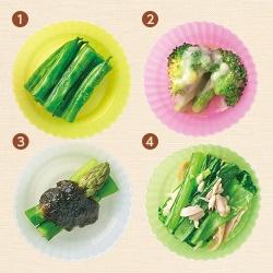 お弁当の緑のおかず〈レンジでチン〉