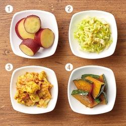 3色野菜de彩り弁当〈黄のおかず〉