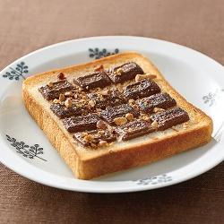 チョコナッツトースト