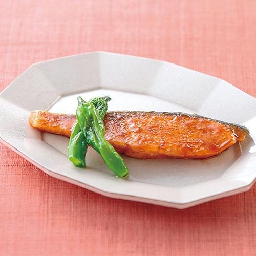 鮭のしょうが焼き