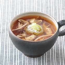 おぼろ豆腐のあんかけ汁