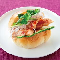 カオマンガイ風サンド